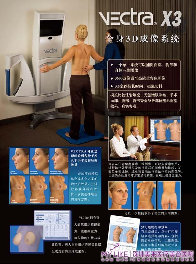 3D-VECTRA立体数字化成像系统